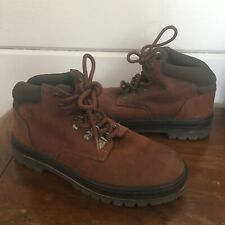 Timberland ankle boot brown leather lace up womens size 7