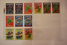 Garbage Pail Kids 2017 Fall Comic Convention Set 12 cards VERY RARE Topps