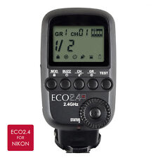 ECO2.4 2.4GHz 32 Channel Flash Trigger with High-Speed Sync Nikon Studio HSS
