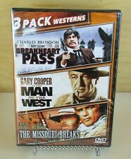 3 Pack Westerns New Sealed DVD Bronson - Brando - Cooper