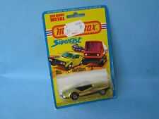 Lesney Matchbox Superfast Golden X 33 Datsun 126X Gold Body in USA BP