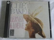 CD CHET BAKER PLAYS THE BEST OF LERNER & LOEWE