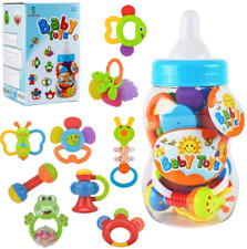Baby rattles teethers for Newborn Toys,Gifts for Infants 11pcs