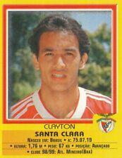316 CLAYTON # BRAZIL CD.SANTA CLARA CROMO STICKER FUTEBOL 2000 PANINI