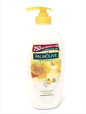 4 x Palmolive Naturals Nourrissant Plaisir Hydratante Douche Lait 750ml