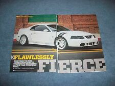 """2004 Ford Mustang Cobra Terminator Article """"Flawlessly Fierce"""""""