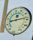 THE WEATHER CHANNEL ADVERTISING OUTDOOR THERMOMETER VINTAGE RARE