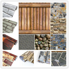 3D Brick Stone Self Adhesive Wallpaper Vinyl Wall Stickers Bedroom Living Room
