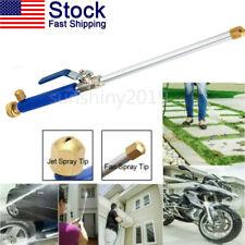 High Pressure Power Washer Water Spray Gun Wash Jet Nozzle Wand Car Garden Hose