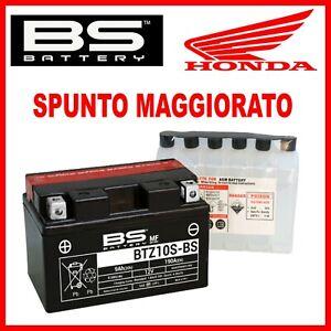 BATTERIA PER MOTO AGM 12V YTZ10S-BS HONDA CBR 600 RR 2003 2004 2005 2006 2007