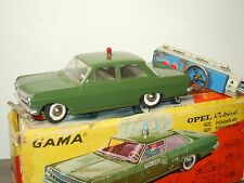 Opel Rekord Polizei - Gama with Remote Control 4623 Germany 1:21 in Box *30387
