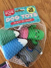 Throw Me a Bone Dog Toys Rubber Squeak Toys Llama Cactus Mountain Bath Toy