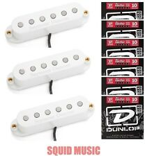 Seymour Duncan Classic Stack Plus STK-S4 White Set ( 6 SETS OF STRINGS ) Strat