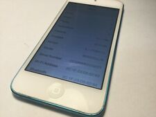 Apple iPod touch 5th Generation Blue (16 GB) -  please read