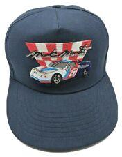 MARK MARTIN / NO. 6 / VALVOLINE vintage blue adjustable snapback cap / hat