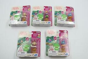 Lot of 5 Angry Birds Stella TELEPODS Featuring Gale Dahlia and Willow