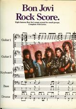 Afred Publishing Bon Jovi Rock Score Collectable Out of Print