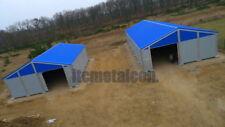Industrie-Lagerhalle 12,5x35x4,3 sk 90kg Schneelasthalle Leichtbauhalle Aluhalle