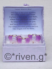 GUARDIAN Angel WORRY Box@RELIGIOUS Blessing@PURPLE PRAYER Verse@IN OUR THOUGHTS