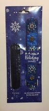 Incense Sticks With Holder Holiday Scents First Snow Blue 20 Incense Sticks
