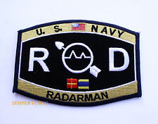 RADARMAN RD RATING HAT PATCH USN PIN UP USS ENLISTED CHIEF US NAVY PIN UP GIFT
