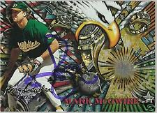MARK McGWIRE 1995 TOPPS OAKLAND A'S  AUTOGRAPHED BASEBALL CARD PSA/DNA