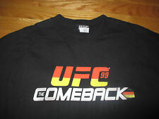 "1999 Ultimate Fighting Championship ""COMEBACK"" FRANKLING vs SILVA (2XL) T-Shirt"
