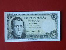 5 PESETAS 1951 SERIE H- SC PLANCHA