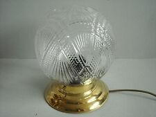 traumhafte Deckenlampe Plafoniere Kugelkuppel Messing