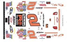 #2 Clint Bowyer Timberline Chevy 1/25th - 1/24th Scale WATERSLIDE DECALS