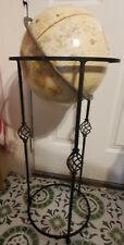 Replogle Floor 12 In. Globe World Classic Series on Wrought Iron Stand