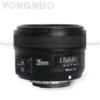 Yongnuo 35mm F/2 Lens 1:2 AF / MF Wide-Angle Auto Lens for Nikon DSLR Camera