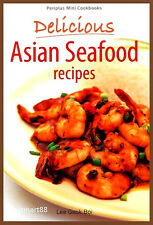 DELICIOUS ASIAN SEAFOOD RECIPES Spring Roll Dumpling Soup Cooking Paperback New
