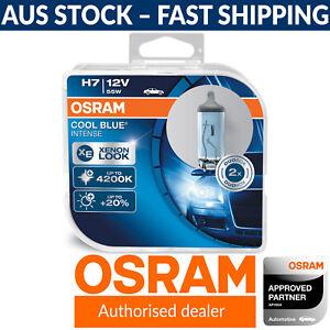 OSRAM Cool Blue Intense H7 Styling Headlight Globes 4200K (Twin Pack Of Bulbs)