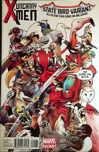 Uncanny X-Men #1 Deadpool State Bird Variant NM