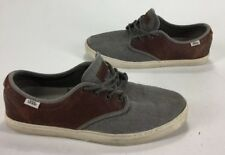Mens Vans OTW Shoes Gray Grey Brown Leather Size 10