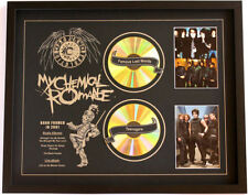 New My Chemical Romance CD Memorabilia Framed