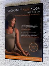 PREGNANCY HEALTH YOGA WITH TARA LEE – DVD+BOOKLET, R-2, LIKE NEW, FREE SHIPPING