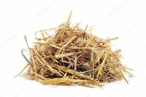 200g Christmas Decoration Hay Straw Wood Shavings Extracted Animal Food Dried