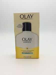 New Olay Complete All Day Moisturizer Normal Skin- SPF 15 6oz EXP:2022