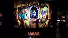 RIPLEY'S BELIEVE IT OR NOT Pinball Machine - Stern 2003 - Impressive!