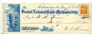 1868    Mechanicsburg,  Pen. Second National Bank