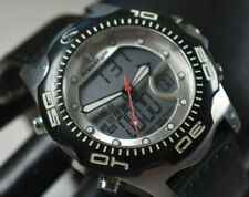Shark X 2.0 Freestyle Stainless Analog/Digital Men's Watch NEW BATTERY/BAND!