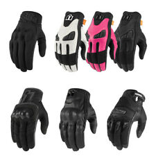 *SHIPS SAME DAY* ICON Womens Motorcycle Gloves (Every Women's Icon Glove)
