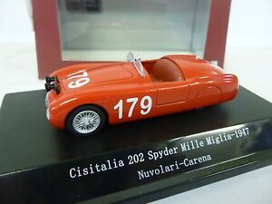 STARLINE 1:43 SCALE 1947 SPYDER No.179 NOVOLAN 159100  [MINT AND BOXED]