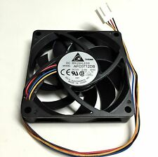 NEW Delta AFC0712DB 70mm x 15mm 12vdc PWM CPU Fan 6000RPM Dual Ball Bearing 4pin