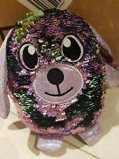 Shimmeez Reversible Sequins Plush Doll dog