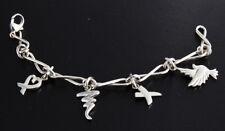 Tiffany & Co Sterling Silver 925 Charm Bracelet
