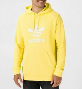 Orgulloso fondo Mayor  adidas Yellow Hoodies for Men for Sale | Shop Men's Athletic Clothes | eBay