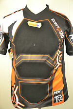 Hasbro NERF Dart Tag Official Competition Jersey 2010 Large/XL Black Orange New